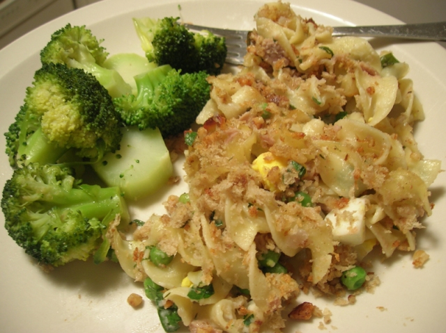 Really Delicious Light Tuna Casserole